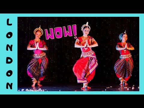 Ancient classical HINDU dancing (ODISSI ) at the Southbank Centre (LONDON)