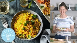 Andrea Nguyen's Vibrant Turmeric Coconut Rice | Genius Recipes