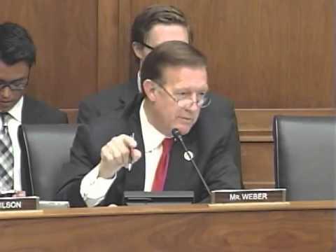 Rep. Randy Weber (TX) grills administration representative on Syria