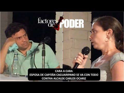 VIDEO COMPLETO | ESPOSA DE CAGUARIPANO ENCARA A OCARIZ | AGÁRRATE | FACTORES DE PODER