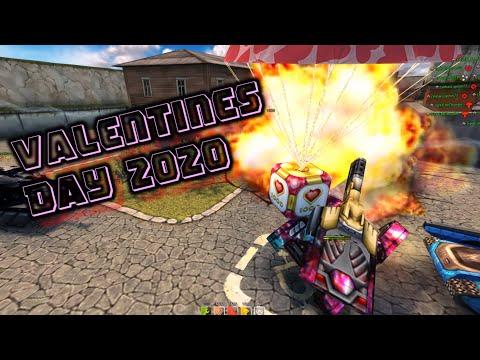 Tanki Online - Valentines Day 2020 Special GoldBox Montage!