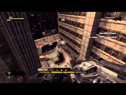 Duke Nukem Forever Multiplayer Gameplay Hollywood Holocaust Remake Map