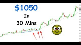 How I Made $1050 In 30 Mins! (6 Figure Trading)