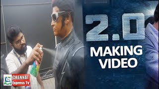 Making of 2.0 Robo @ sathyam Cinemas| Rajinikanth, Akshay Kumar | Shankar | Chennai Express