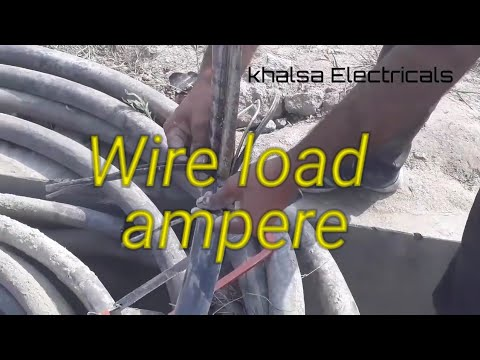 Almunium wire load capacity ampere!! Almunium cable wire size! Konsi wires load Le sakti thumbnail