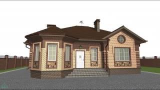 Проект одноэтажного дома с тремя спальнями  B-015-ТП(, 2016-10-20T13:14:30.000Z)