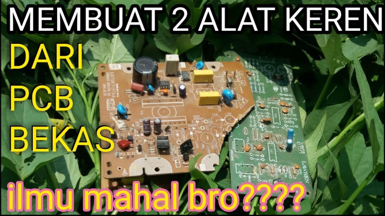 Ide Kreatif Dari Barang Bekas Pcb Elektronik Jadi Barang Yg