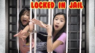 Pretend Play LOCKED UP in Jail Playhouse CHALLENGE