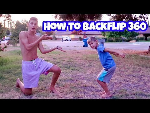 BACKFLIP 360 TUTORIAL *learn How To Do And Improve*