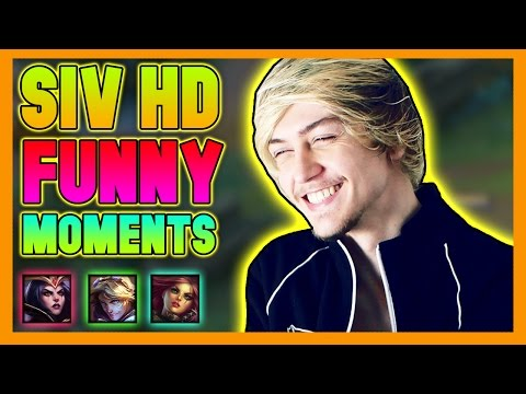 Siv HD Funny Moments - League of Legends