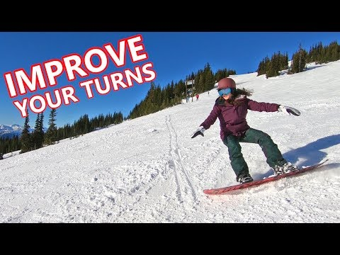 3 Tips To Improve Snowboard Turns with Gill