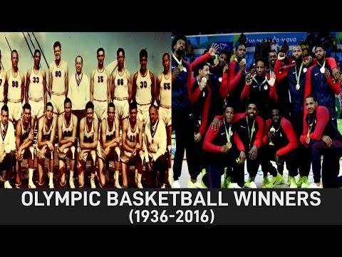 Olympic Basketball Winners 1936-2016