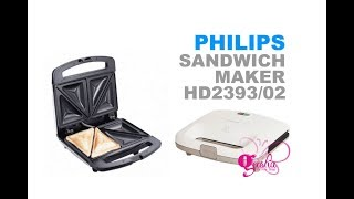 Unboxing Philips, Sandwich Maker #01 HD2393