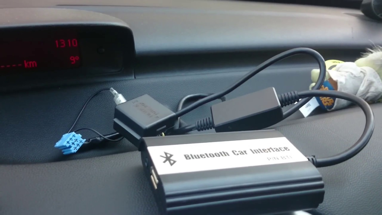 Peugeot 307 RD3 AUX USB and Bluetooth (Digital CD changer) install