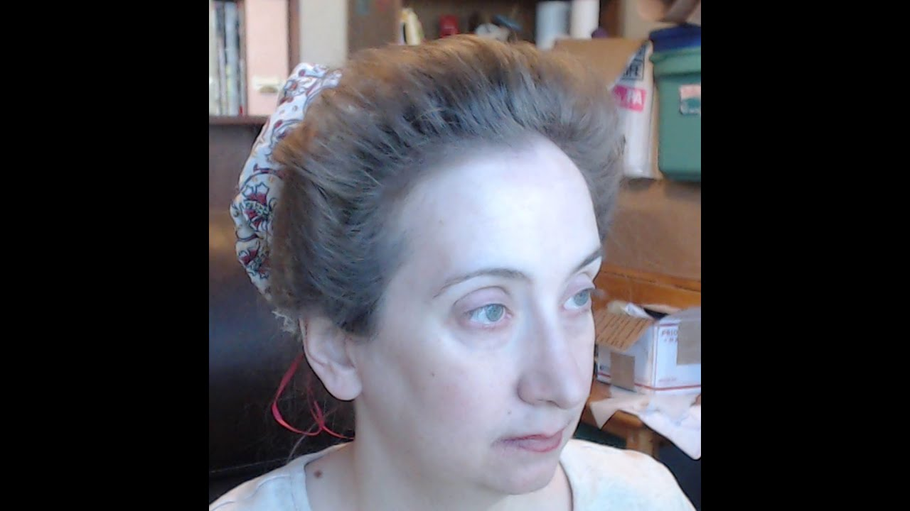 Elizabethan hair method 3