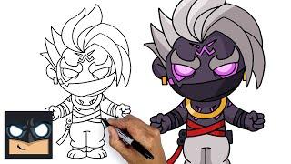 How To Draw Forтnite   Legendary Raz