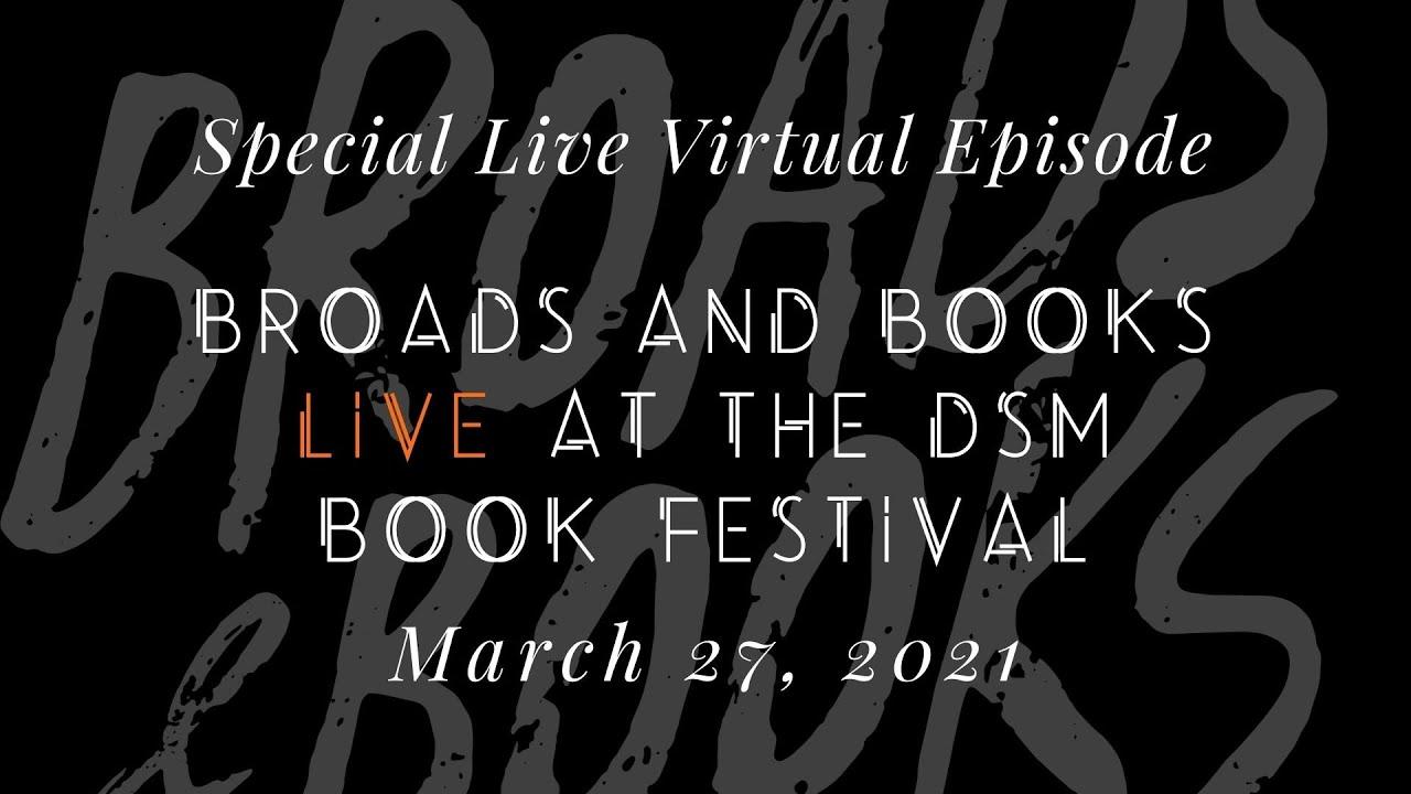 Watch Broads and Books Live!