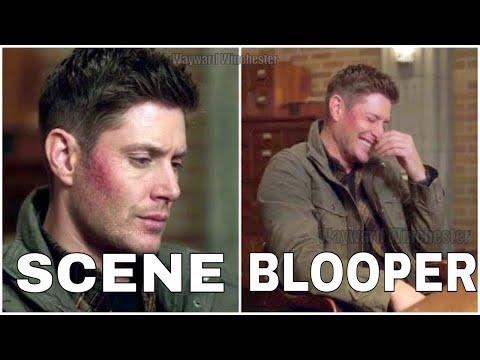 Supernatural Season 12 Gag Reel Bloopers VS Actual Scenes