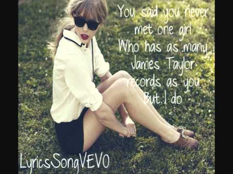 Taylor Swift  Begin Again Lyrics HD