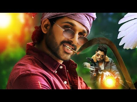 Stylish Allu Arjun entry as Police - Race Gurram Movie Scenes