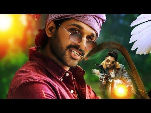 Stylish Allu Arjun Entry As Police - Race Gurram Movie Scenes