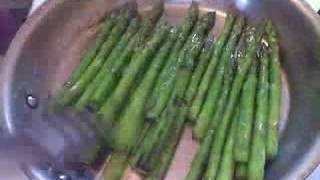 Pan-seared Asparagus With Lemon, Balsamic And Parmesan