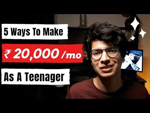5 Ways To Make Money As A Teenager Online [Zero Investment] | How To Make Money As A Teenager
