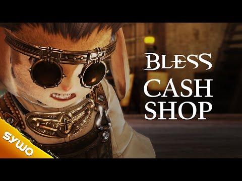 BLESS Online - Cash shop explained (EU & NA possible shop items)
