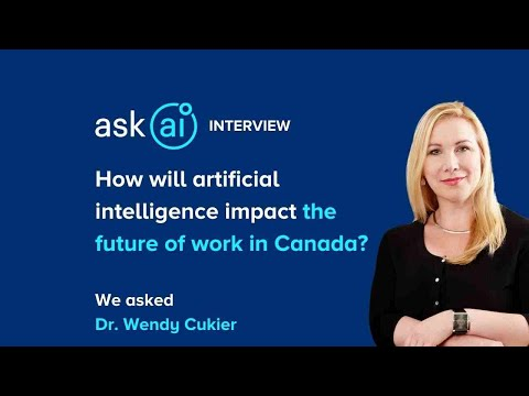 How will artificial intelligence impact the future of work in Canada?