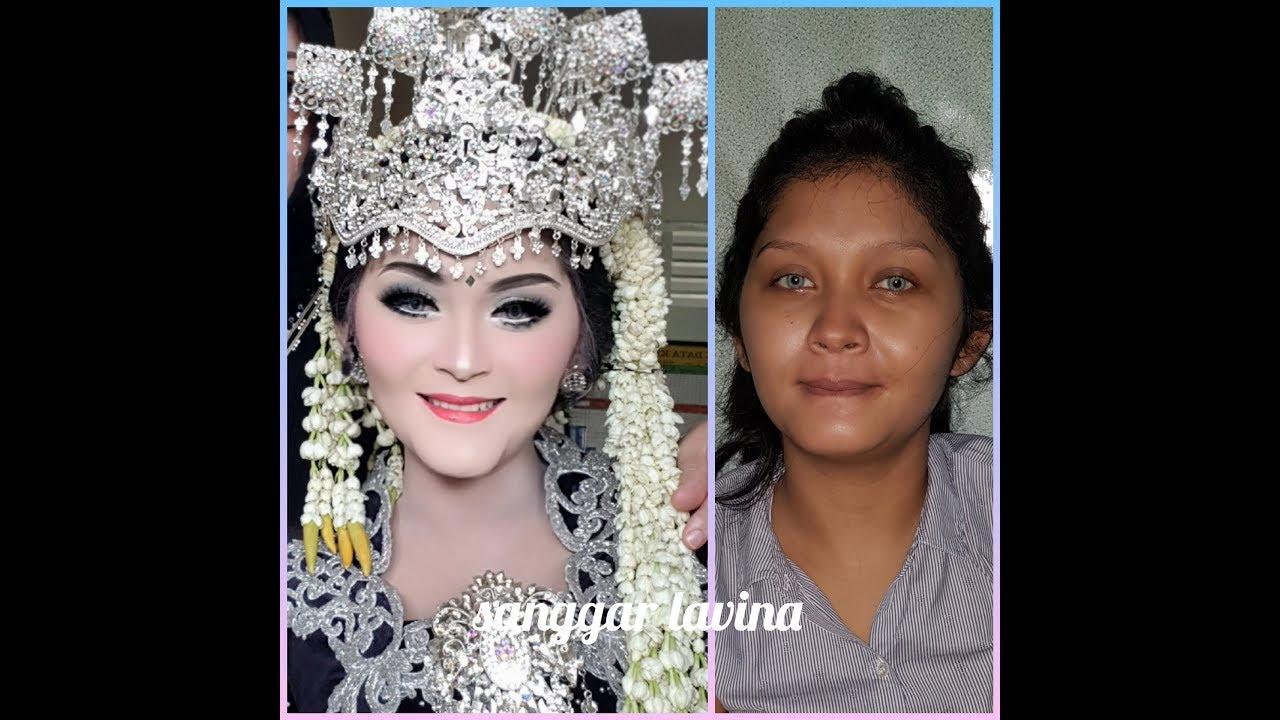 Tutorial Sanggul Sunda Yg Simple By Teh Titin Vligjobwedding25 Youtube