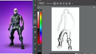 Fortnite: Drawing the Skins #3