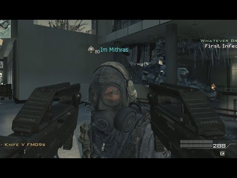 3 MOABs, 4 Rage Quits - MW3 Burger Town Infected FMG9 MOAB Call of Duty Modern Warfare 3