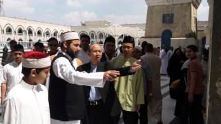 Kunjungan Dubes RI Baghdad ke Masjid Syeikh Abdul Qadir Jaelani, Jumat 15 April 2016