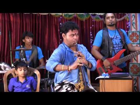 Minsara poove.  Ar rahman songs nathaswaram k.p. kumaran natha sangamam team