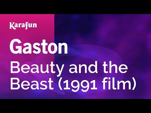Karaoke Gaston - Beauty And The Beast *