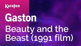 Karaoke Gaston - Beauty and the Beast (1991 film) *