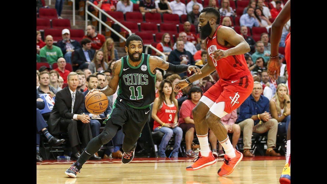 bbd2558394d James Harden   Kyrie Irving Had A 3Q Showdown In Houston - YouTube