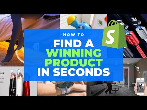 How to Find a Winning  Shopify Product 2019 (+3 $1000/Day Winners!)