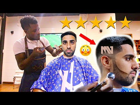 HAIRCUT At The BEST REVIEWED BARBER In DUBAI (7 STAR)
