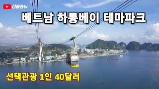 VLOG #2 베트남 하롱베이 선택관광 테마파크 1인 …