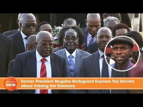 Former President Mugabe Bodyguard Exposes Top Secrets