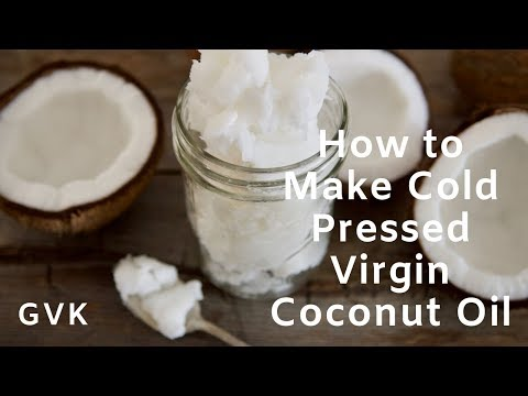 How To Make Cold Pressed Virgin Coconut Oil (in North America)