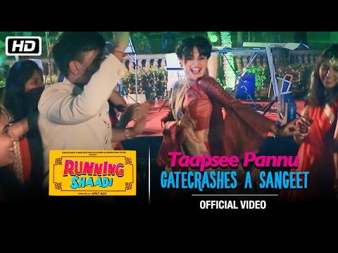 Taapsee Pannu Gatecrashes A Sangeet!
