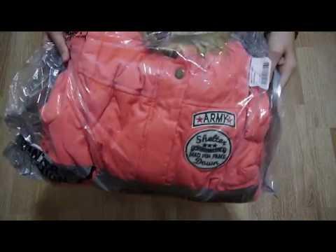 видео: Распаковка посылки с сайта Алиэкспресс парка зимняя