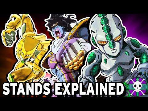 Stands Explained   JoJo's Bizarre Adventure