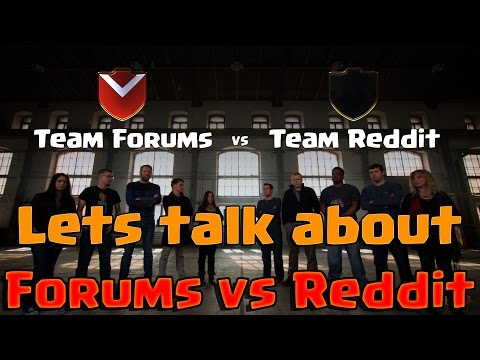 Forums vs Reddit || Lets talk about today's Supercell's Live Stream !