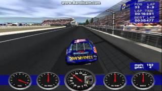 NASCAR Revolution PC Race #22 Gameplay (Kyle Petty) (Atlanta) (9 Laps)