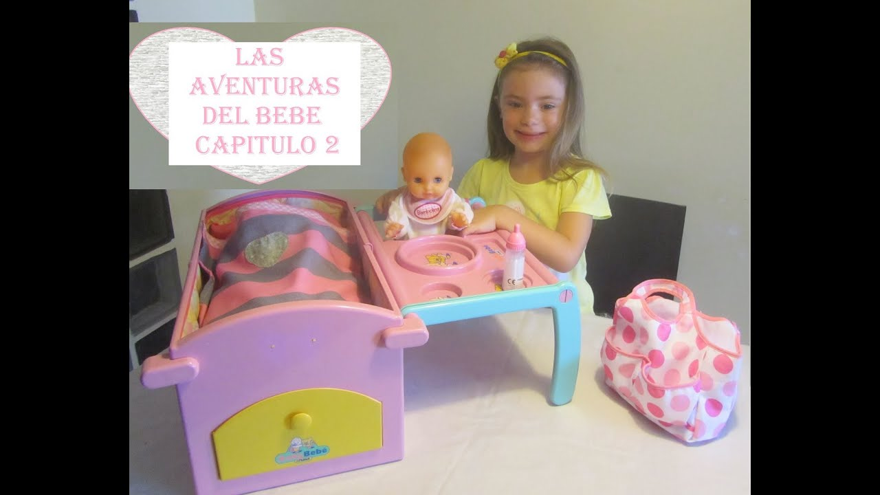 Cuna de Juguete con Beb  Las aventuras del beb  Captulo 2
