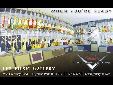 The Music Gallery Video Tour - Highland Park IL
