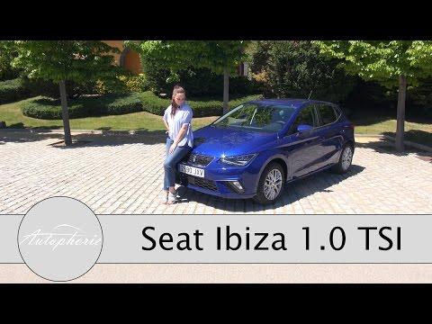 2017 Seat Ibiza 1.0 TSI (115 PS) Fahrbericht / Erster Kleinwagen auf MQB-A0 Plattform - Autophorie